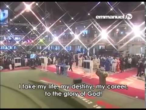 Powerful Mass Prayer With Prophet TB Joshua   YouTube