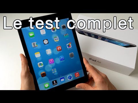 iPad Air : Le test complet - Design, Rapidité, Photo & Video (Français)