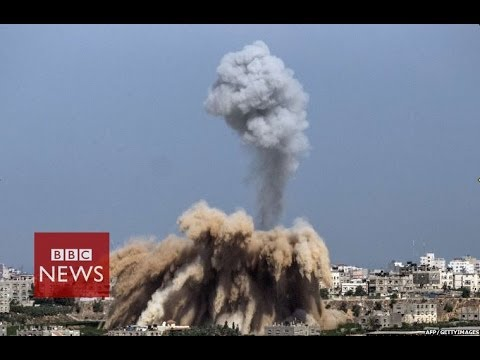 Israeli air-strikes kill 25 in Gaza & Hamas fires rockets into Israel - BBC News