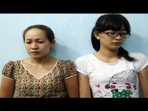 Bắt hai cô giữ trẻ ở Sài Gòn hành hạ đánh đập trẻ em