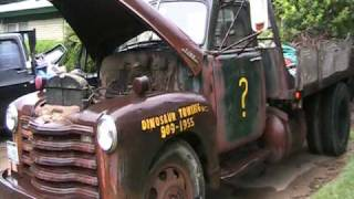 Old Truck Old 2ton Chevy Tow Truck [see My Other Old Car