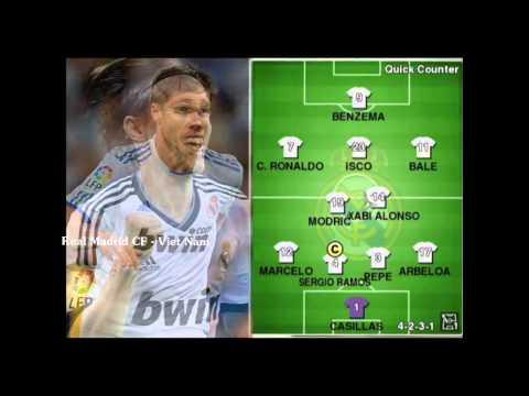 RFCVN Điểm danh các cầu thủ Real Madrid bằng bài hát Nơi tình yêu bắt đầu