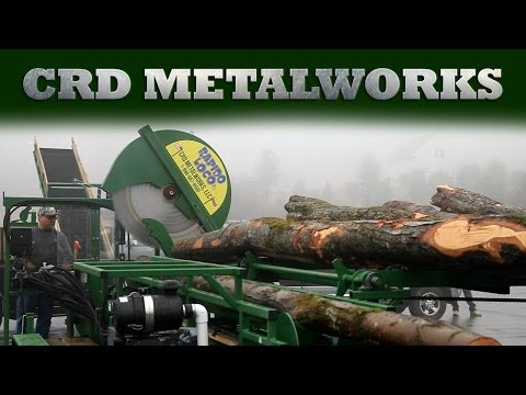 CRD Metalworks Firewood Processor Corporate Video