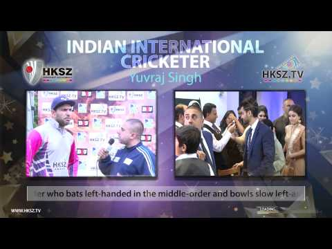 HKSZ.TV's International Cricket legends in East London – Yuraj Singh 1-HD