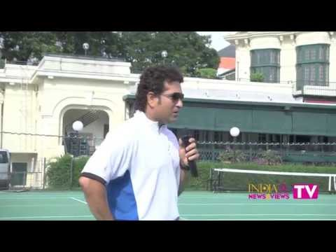 Sachin Tendulkar in Singapore