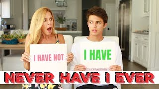 NEVER HAVE I EVER w/ MOM | Brent Rivera