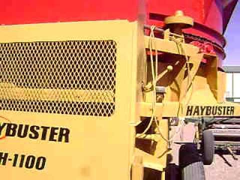 Carro Mezclador de Forraje Haybuster 1100 Big Bite LLAMENOS
