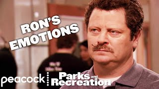 From Rage to Hunger, Ron Swanson is a Man of Many Emotions