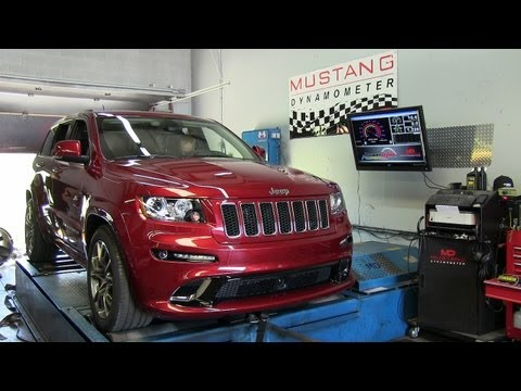 Dyno test: 2012 Jeep Grand Cherokee SRT8 at 1 mile above sea level