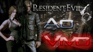 Resident Evil 6 Leon Playthrough Full Game(Jogando Do