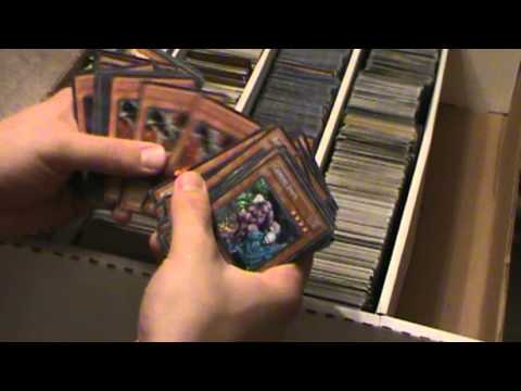 Massive Yugioh Collection Over 40,000 Holos!! Part 1 Secret Rares!!!!
