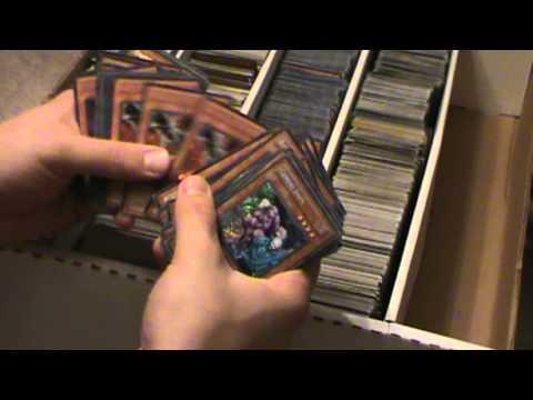 Massive Yugioh Collection Over 40,000 Holos!! Part 1 Secret Rares!!!!