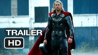 Thor: The Dark World Official Trailer #1 (2013) - Chris Hemsworth, Natalie Portman Movie HD