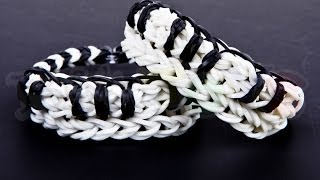 How To Make A Piano Or Keyboard Bracelet Using 1 ONE LOOM