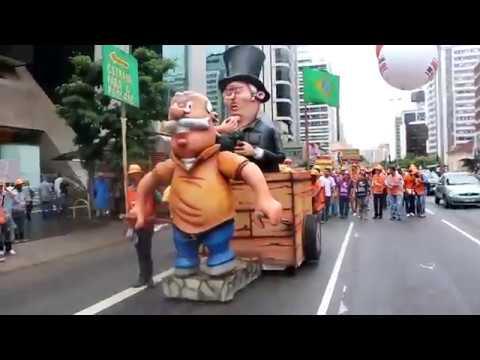 Carnaval de Protesto dos Aposentados 2018