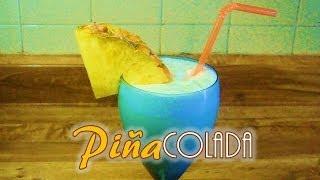 PIÑA COLADA (SIN ALCOHOL) Como Hacerla