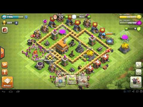 BEST Town Hall Level 5 (TH5) Base Defense Design Layout Strategy for Clash of Clans - Part 2