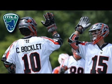 MLL Week 14 Highlights: Denver Outlaws vs Hamilton Nationals