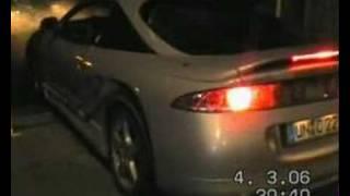 Mitsubishi Eclipse mit V4A Burdinski Auspuffanlage videos