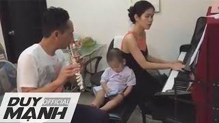 [Ngẫu Hứng] Duy Mạnh Và Vợ Chơi Piano & Flute - Duy Mạnh