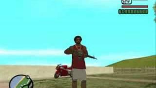 GTA San Andreas:M4 Locations(All Islands)