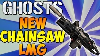 """NEW CHAINSAW LMG! """"Cod Ghosts"""" LMG List Breakdown - Will They Be Balanced or Overpowered?"""