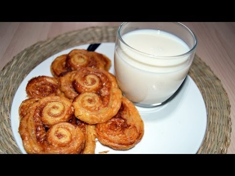 How to Make Palmiers (Elephant Ears Cookies) - Easy Puff Pastry Recipe