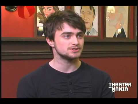 Daniel Radcliffe Interview, Star of Broadway's Equus