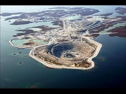 Most Amazing Open-pit Mines in The World (diamonds, gold, silver, copper...) [igeoNews]
