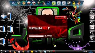 Instalando Virtual DJ (Com Crack) + 54 Skins .[HD]