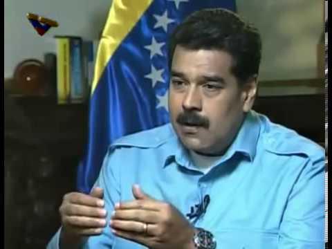 Nicolás Maduro entrevistado en CNN por Christiane Amanpour este 7/3/2014, COMPLETA