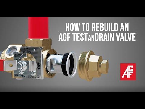 How to Rebuild an AGF TESTanDRAIN