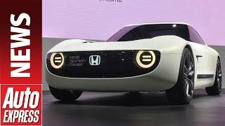 Honda Sports EV concept follows Urban EV concept at Tokyo. Auto Express.