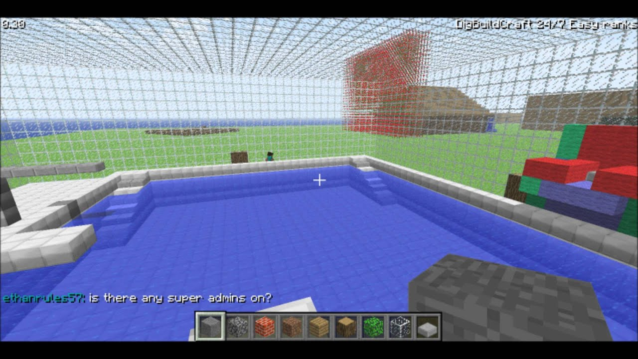 Cool Creations Pool Hot Tub Minecraft Classic YouTube
