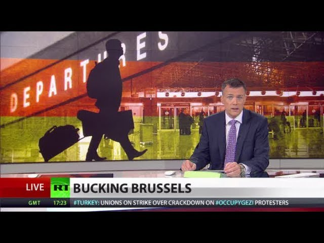 Bucking Brussels: Successful Germans look for quick exit from dark future