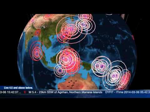 Global Earthquake Update March 5th 2014