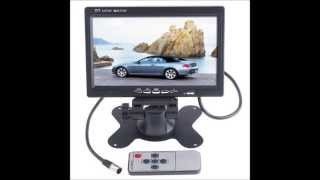 7 INCH TFT COLOR LCD CAR REAR VIEW CAMERA