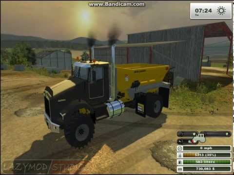 Kenworth Fertilizer Spreader Truck for FS13
