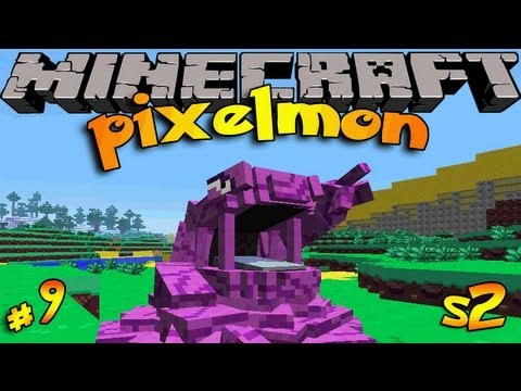 Pixelmon! Minecraft Pokemon Mod! SEASON 2 Ep #9 POKEMON SLOT MACHINES!!!