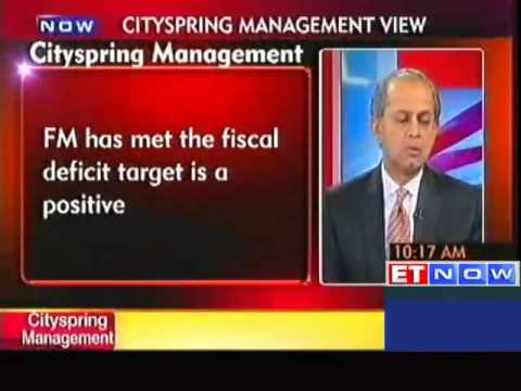 Finance Minister P Chidambaram has met fiscal deficit target is a positive