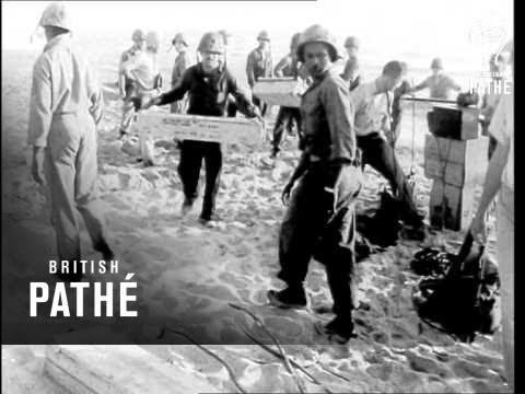 U.S. Marines Landing In Lebanon (1958)