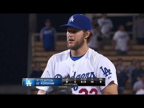 Vin Scully's memorable calls from Kershaw's no-hitter