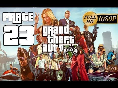GTA V Grand Theft Auto 5 Español - Gameplay Walkthrough Parte 23 [Misión Caída Libre] Modo Historia GTA V Español/Latino (PS3/Xbox360)