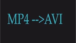 Convertir Mp4 A Avi, Pasar Mp4 A Avi, Programa Para