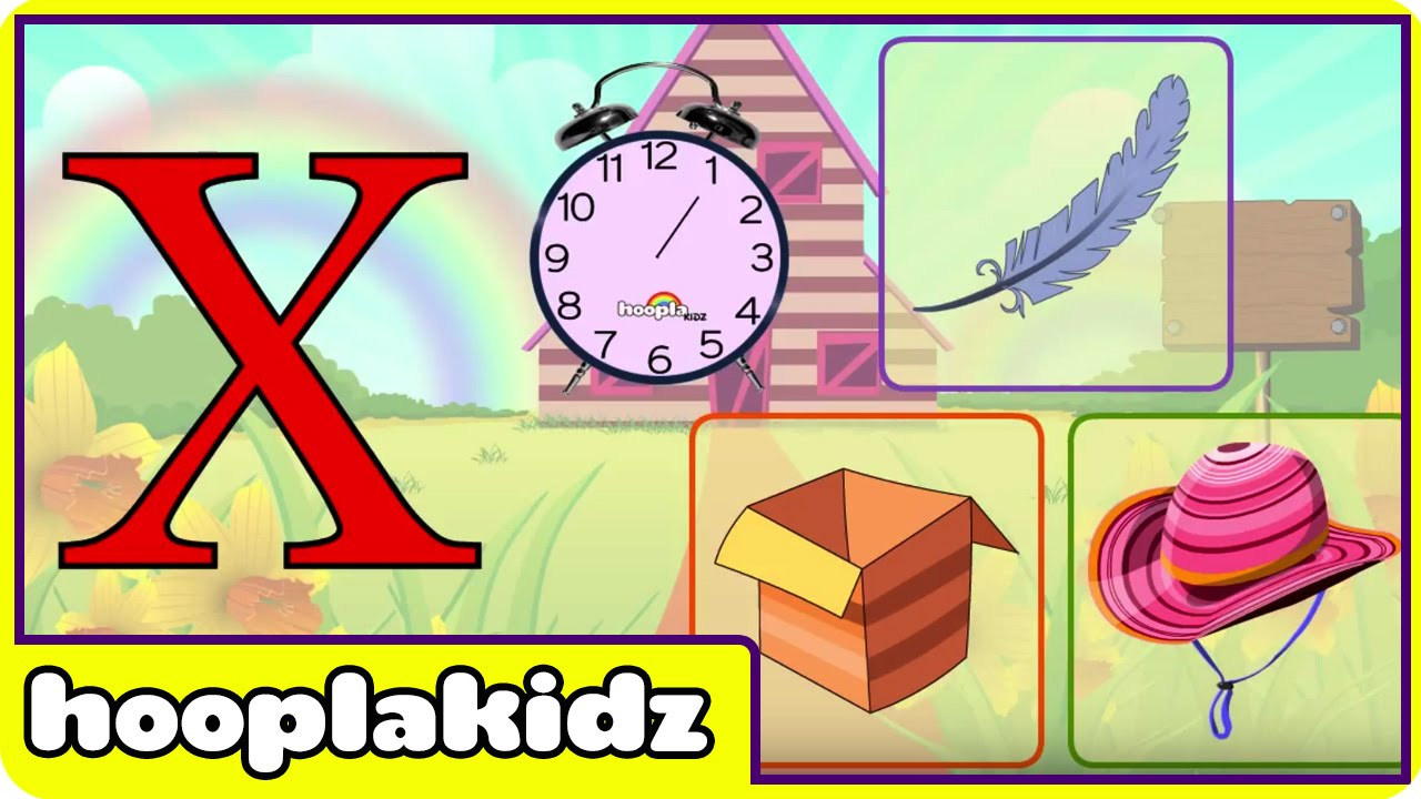 Learn About The Letter X - Preschool Activity