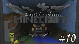 Minecraft Quest for Cheese. Серия 10 - Большие открытия.