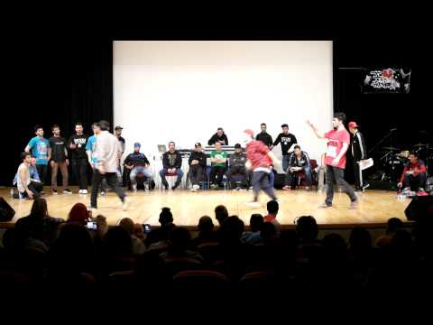 Dirilis HipHop For Life vol.3 Breakdance Battle yari finaller 2 battle arka arkaya