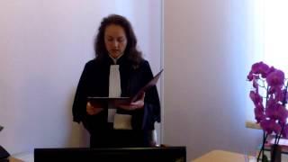 Judecătoarea Furdui mă declară huligan