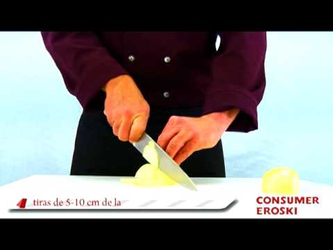 T cnicas b sicas de cocina c mo cortar las verduras youtube - Tecnicas basicas de cocina ...
