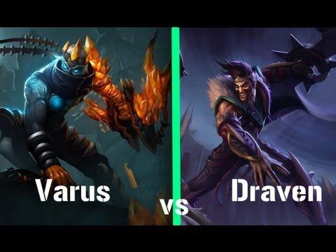 League of Legends Face/Offs: Draven vs Varus